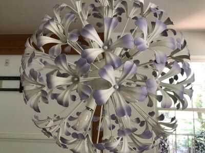 Lodge Metal Flower Lights