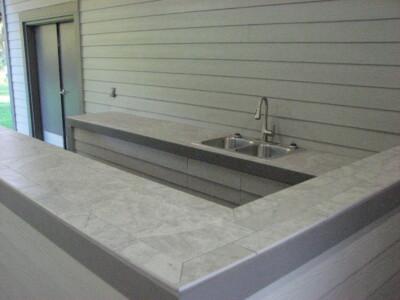 Pavilion Bar and Sink